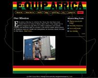 E-QuipAfrica.org website