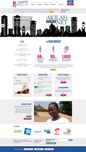 AkilahInstitute.org website