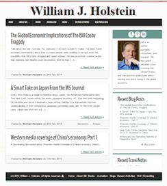 William J. Holstein website